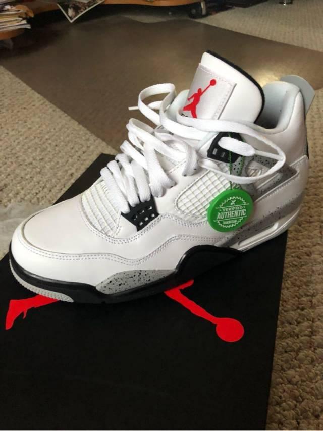 detailed look 41507 8665d Jordan 5 White Cement Stockx Air Jordan 5 White Cement ...