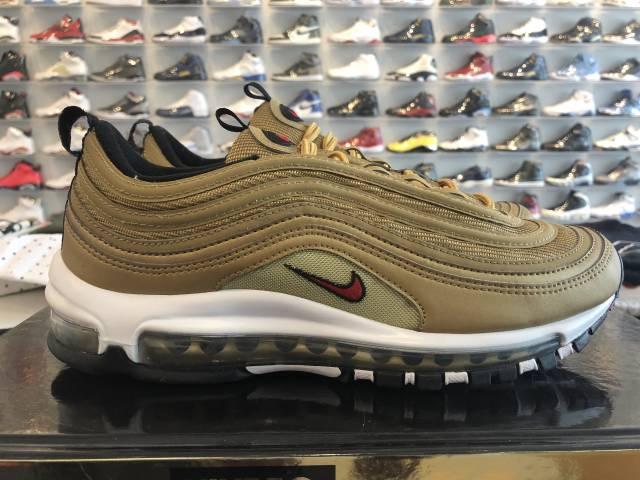 detailed look cdc57 f94cd Nike Air Max 97 Metallic Gold