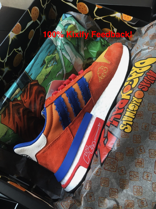 new style c6306 c70ef Dragon Ball Z x adidas ZX 500 RM Son Goku   Kixify Marketplace
