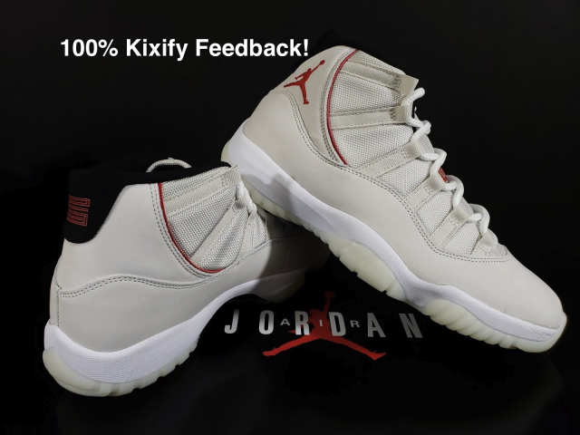 new product d25b8 6ce0e Air Jordan 11 Platinum Tint
