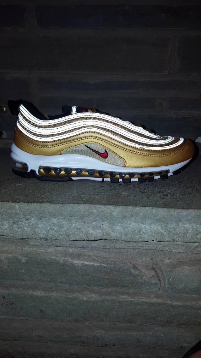 detailed look c227c 8da4f Nike Air Max 97 Metallic Gold