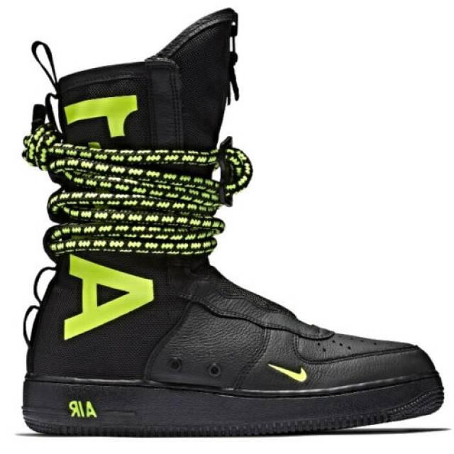 Nike SF Air Force 1 Boot Slime Black