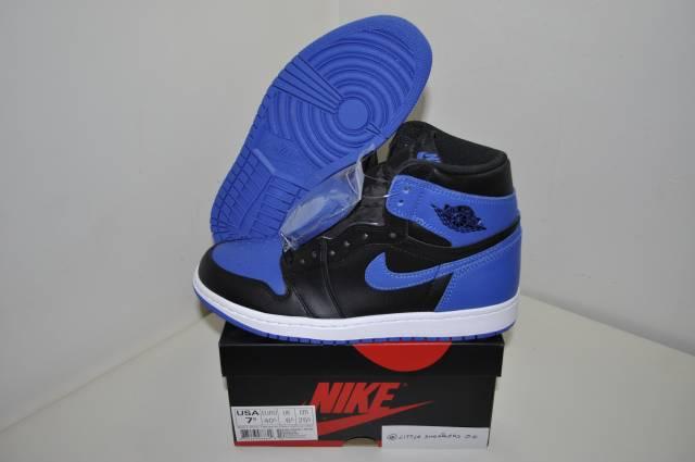 Nike air jordan 1 Retro Blue Royal Size