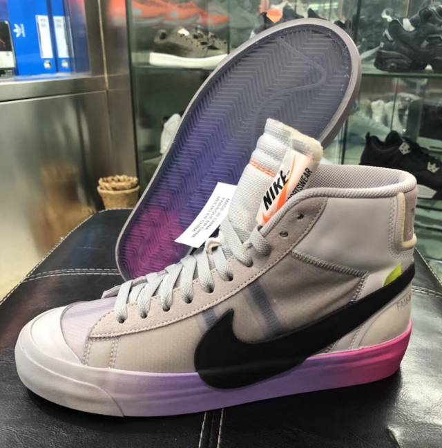 OFF-WHITE x Nike Blazer MID Queen Serena Williams  1dfd5cd5f