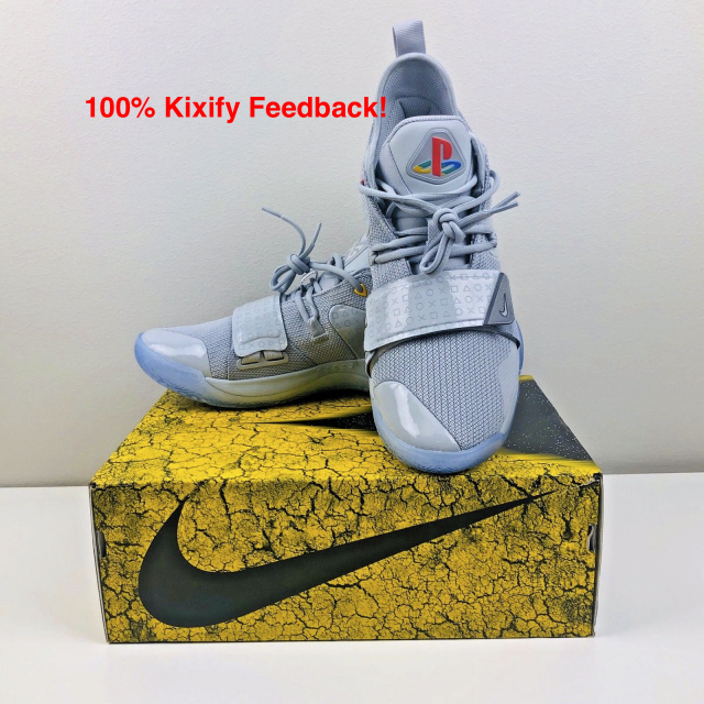 sale retailer 9e90d 841fe Playstation X Nike Pg 2.5 Wolf Grey