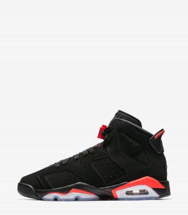 Air Jordan 6 Black Infrared Og 2019