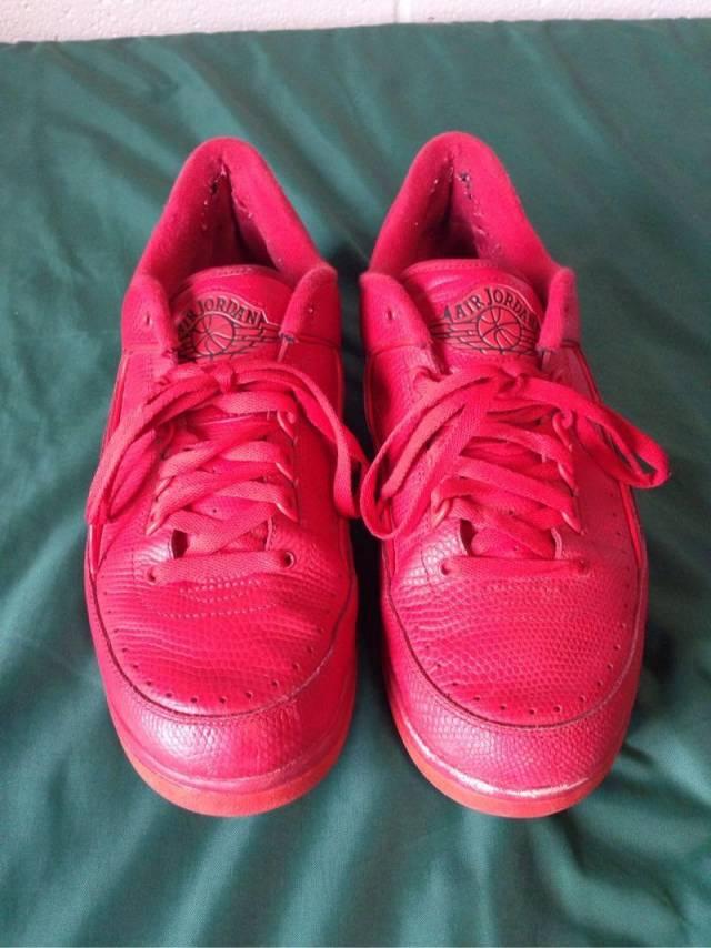 6e888baf00fb Retro Jordan 2 Low Gym Red Size 11