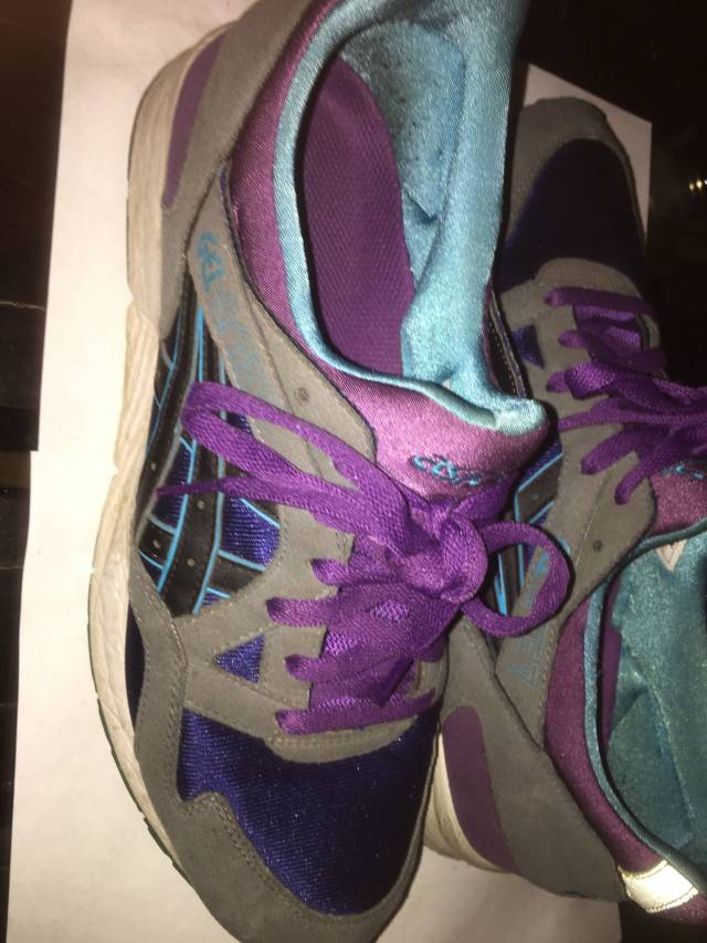 Grey Purple H312n Black V 10 Asics Lyte Gel Size W2eHIE9DY