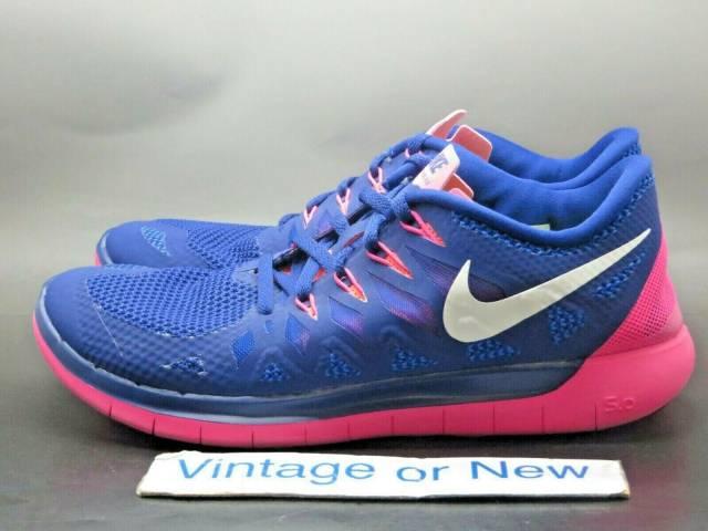 Women's Nike Free 5.0 Deep Royal Blue