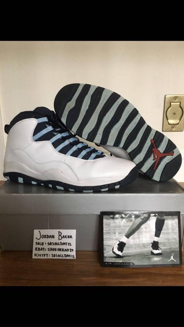 Air Jordan Ice Blue X 10 Nike Nike's