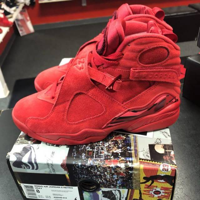 hot sale online e8864 a3e0d Jordan 8 - V Day - Womens Size 8/gs Size 6.5