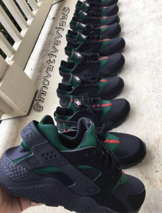 finest selection b613f f61d0 Inspired Gucci Huaraches