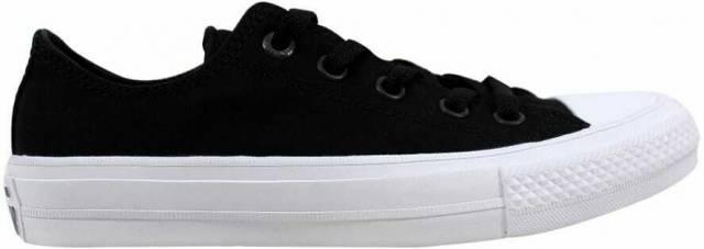 Converse Chuck Taylor II 2 OX BlackWhite 150149C Men's Size 4