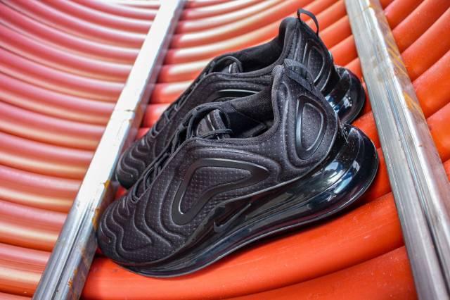 Nike Air Max 720 Black Mesh Kixify Marketplace
