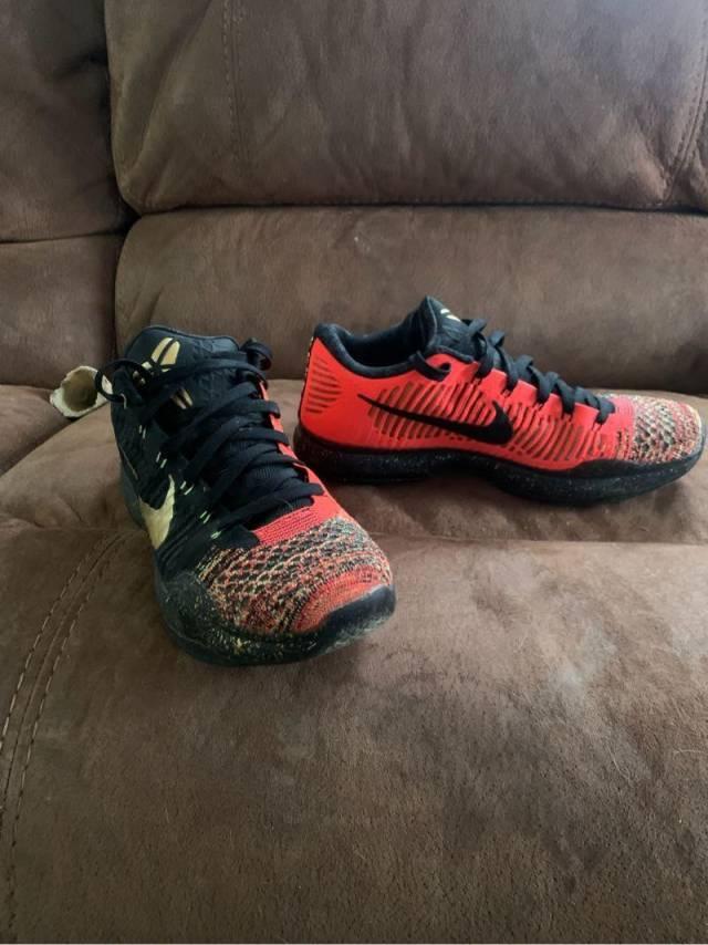 Nike Kobe 10 Elite Low - Christmas