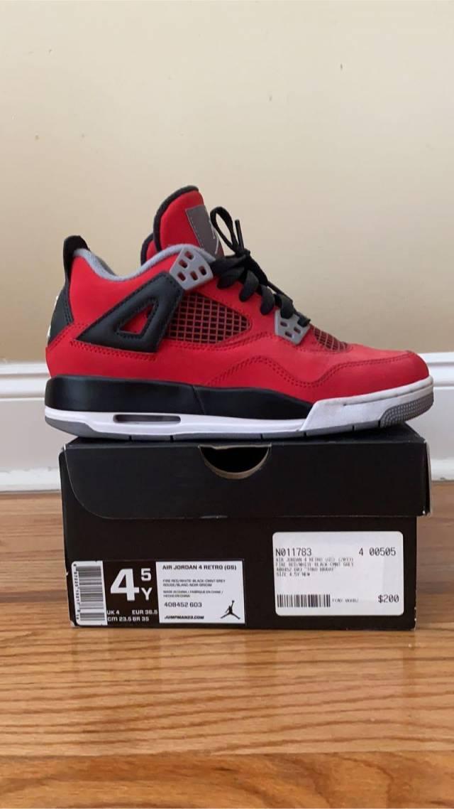 """Air Jordan 4 Retro GS """"Toro Bravo"""