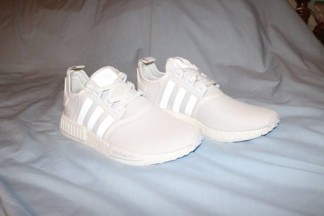 Adidas Nmd R1 Triple White Reflective Kixify Marketplace