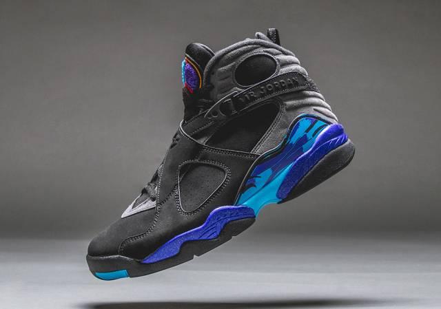 Air Jordan 8 - Aqua