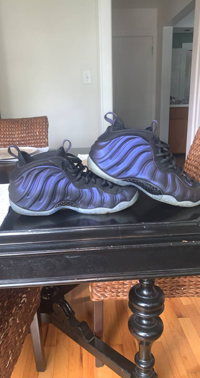 Men s Air Foamposite One PRM Mtllc Slvr VLT Blck ...Desertcart