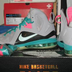 Nike lebron 9 south beach new