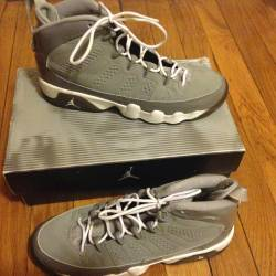 Air jordan ix (9 s) retro grey...