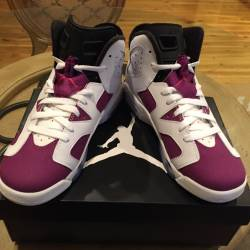 Air jordan 6 grape 7y gs dmp y...