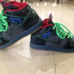 Nike sb dunk hi twin peaks