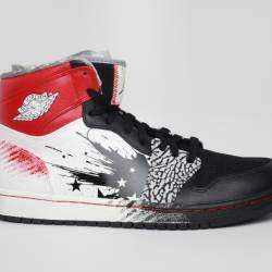 Nike air jordan 1 dave white 4...