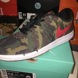 Nike free sb camo rose city