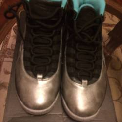 Air jordan 10 retro 'lady libe...