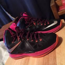 Nike air lebron 10 floridians ...