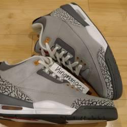 Jordan iii 3 cool grey
