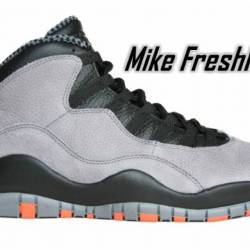 Air jordan 10 x retro cool gre...