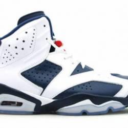 Nike air jordan 6 retro ~ olym...