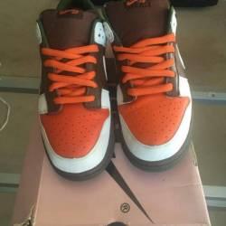 Nike dunk low pro sb oompa loompa