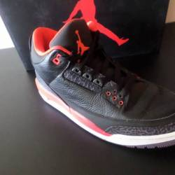 Air jordan 3 retro crimson - 1...