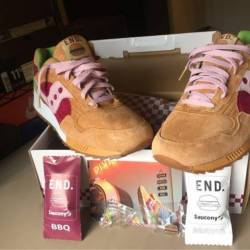 Ds saucony end burger
