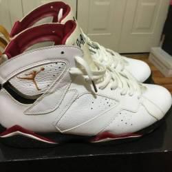 """Jordan """"cardinal"""" 7s"""