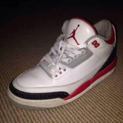 "Jordan 3 ""fire red"""