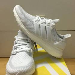 Adidas ultra boost white silve...