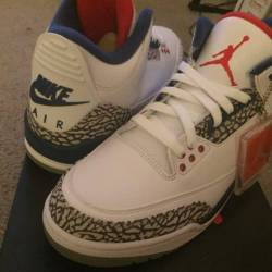 Air jordan og retro true blue 3 s