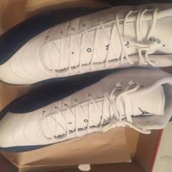 Air jordan 12 french blue sz 16