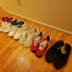 5 pair of kicks [jordan(2), ni...