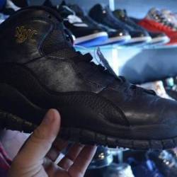 Jordan 10 nyc size 12 pre owned