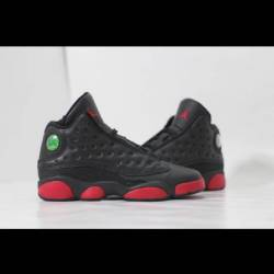Air jordan 13 black gym red