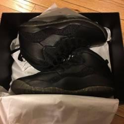 Jordan ovo 10 black ds