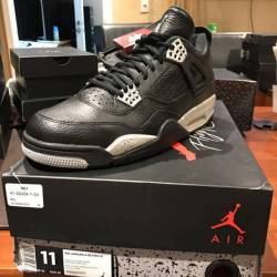 Air jordan retro 4 oreo ls