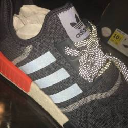 Adidas nmd_1 grey orange refle...