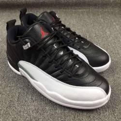 Air jordan 12 playoffs black v...