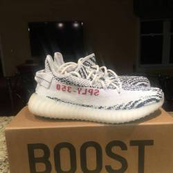 separation shoes fea1b e149a 30 Second Unboxing Adidas Yeezy Boost 350 v2 Zebra.